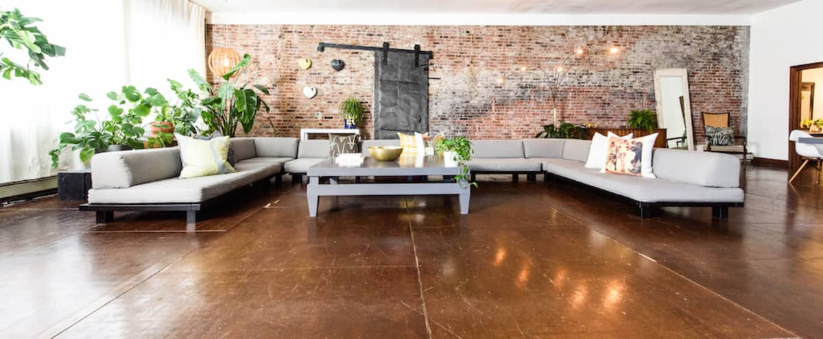 East Side Loft: Huge Furnished Daytime Brooklyn Event Space in Brooklyn Hero Image in Clinton Hill, Brooklyn, NY