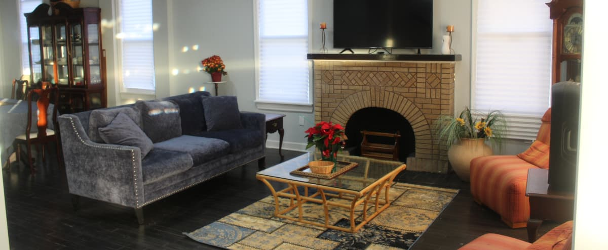 Film/Photo Location: Spacious Newly Renovated Home in Baltimore Hero Image in Forest Park, Baltimore, MD