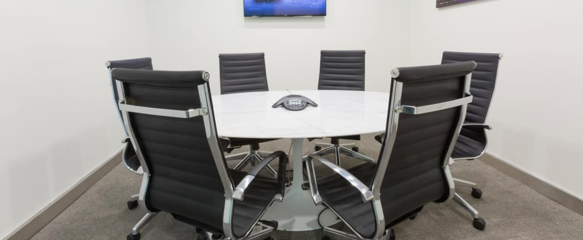 Perfect, Modern Midtown Meeting Room for 6 - Meeting Room E in New York Hero Image in Midtown, New York, NY