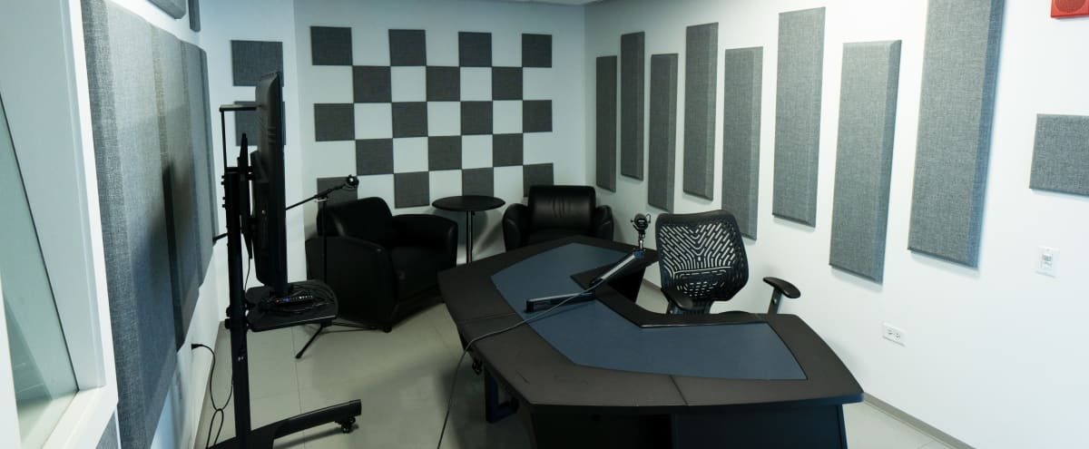Physically Distanced and Safe! Cozy Downtown Recording Studio - Equipment Included in Chicago Hero Image in Chicago Loop, Chicago, IL