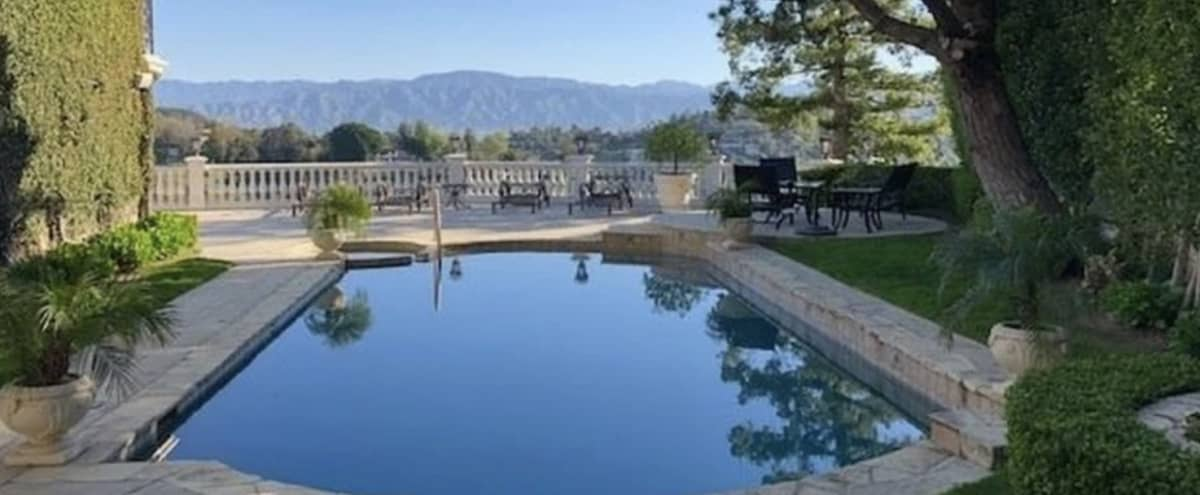 Amazing Hollywood Hills Mansion Production Space in los angeles Hero Image in Hollywood Hills, los angeles, CA