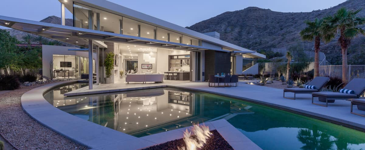 Modern Rock Estate in Rancho Mirage Hero Image in undefined, Rancho Mirage, CA