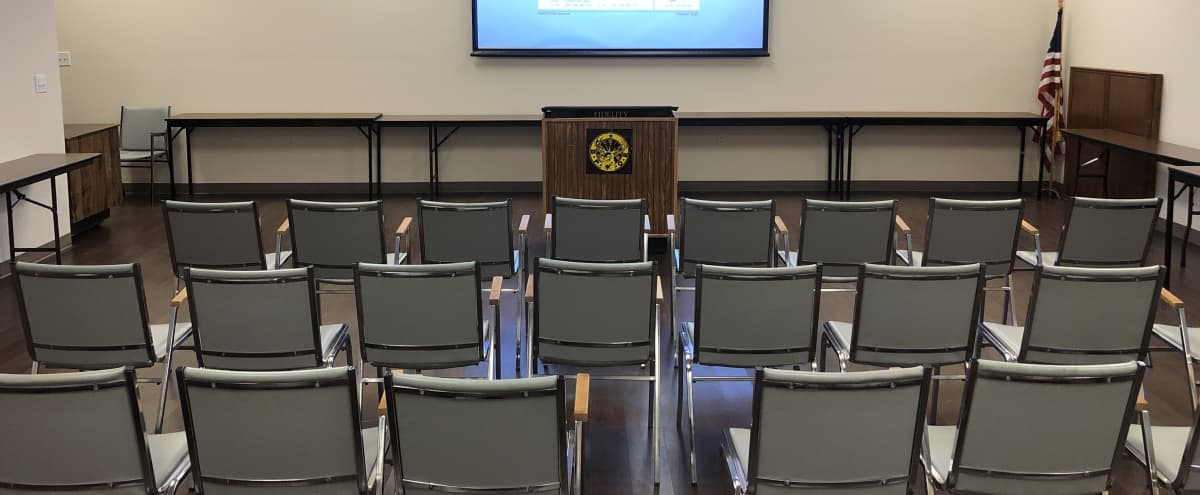 Economical Meeting Space with built in multimedia capabilities in Plano Hero Image in undefined, Plano, TX