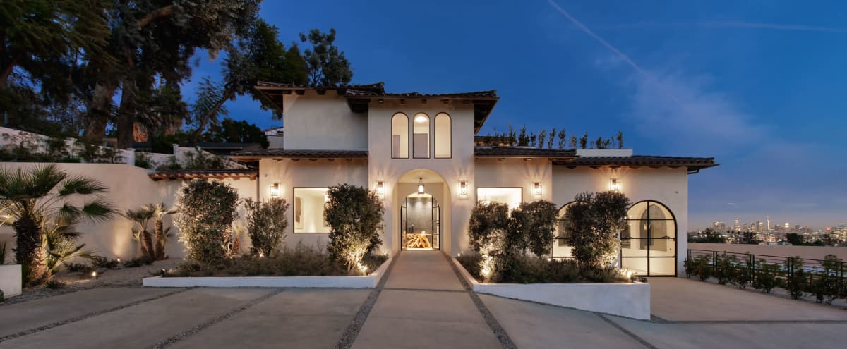 The Casa Blanca Estate in Hollywood Hills East Hero Image in Central LA, Hollywood Hills East, CA