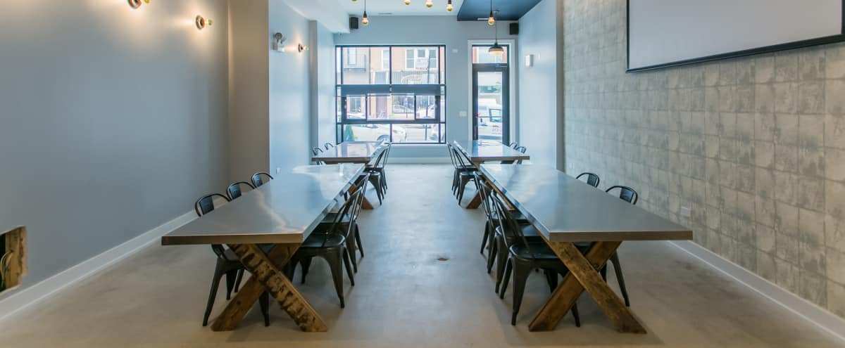 Cozy New Event Space in Roscoe Village | In-House Food & Beverage in Chicago Hero Image in Roscoe Village, Chicago, IL