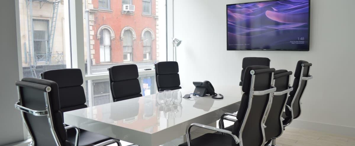 Bright SoHo Boardroom for 8 in New York Hero Image in Lower Manhattan, New York, NY