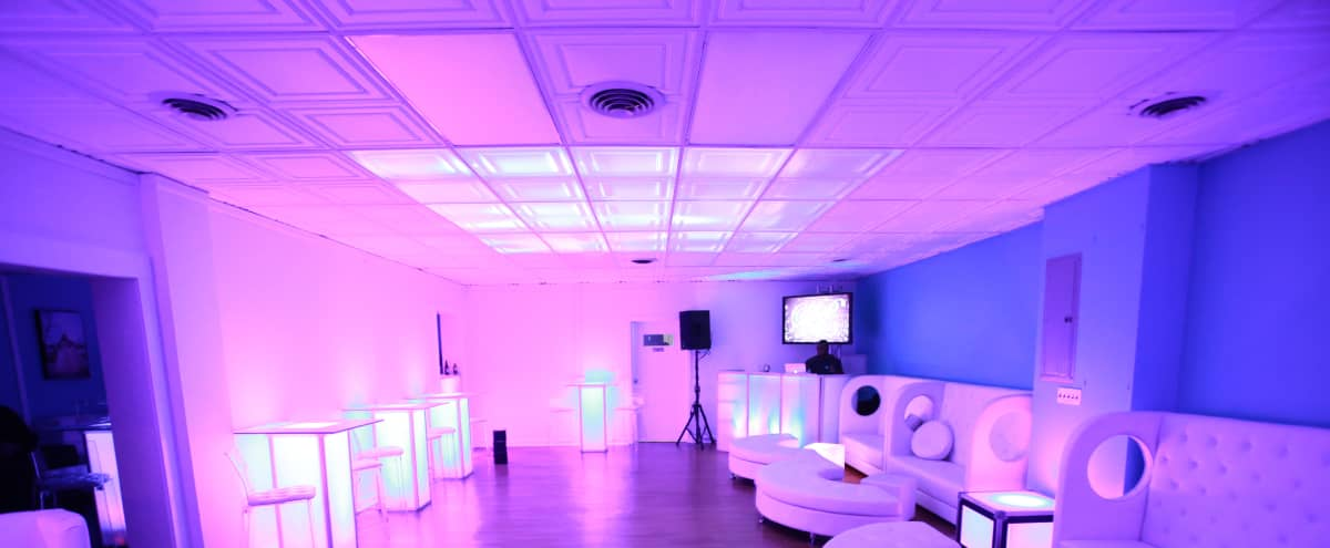Chic Private Event Space boasting LED/Lounge Furniture in Somerset Hero Image in Somerset, Somerset, NJ