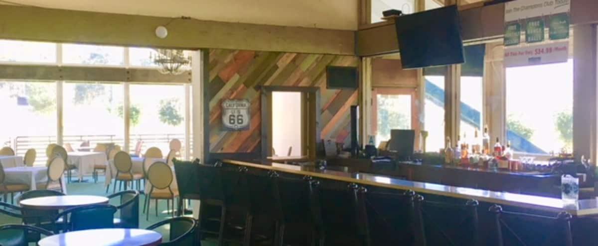 Bar and Banquet room Overlooking Golf Course in sylmar Hero Image in Sylmar, sylmar, CA