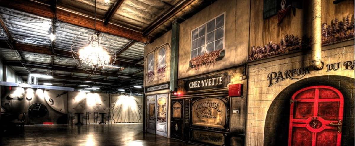 Industrial Warehouse w/ French Boudoir Theme in Gardena Hero Image in Harbor, Gardena, CA