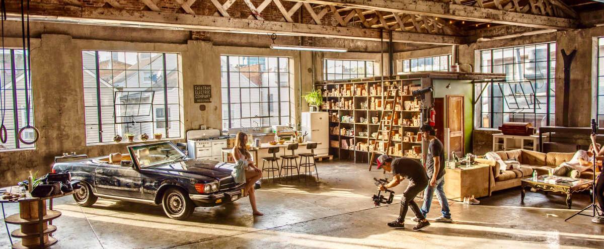 ODR Studios - Sunny Industrial-Chic Loft in Newark in Newark Hero Image in Ironbound District, Newark, NJ