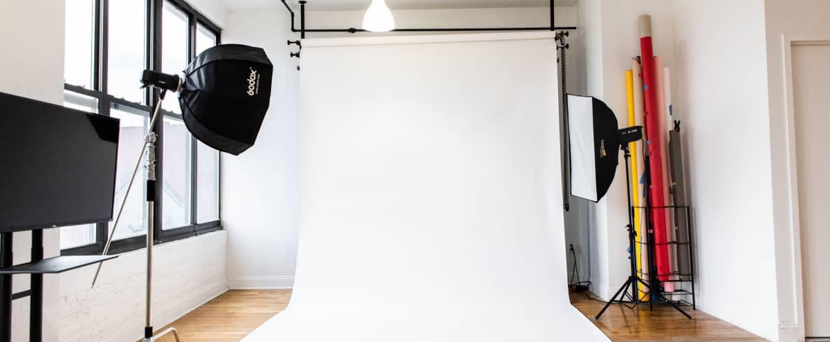 Spacious Daylight Loft Photo Studio w. Equipment in Brooklyn Hero Image in Clinton Hill, Brooklyn, NY