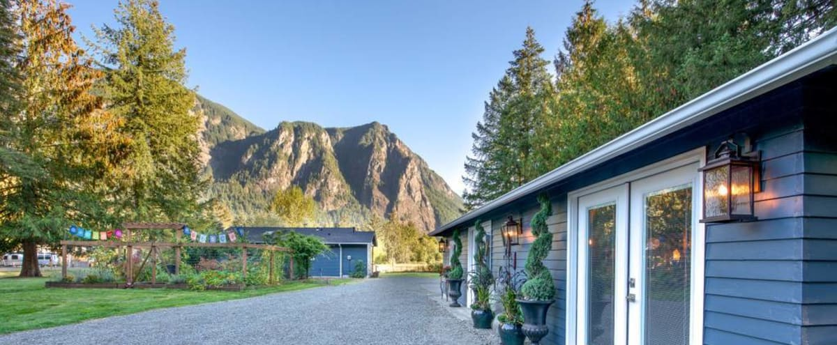 Yoga Studio & Beautiful Outdoor Space w/ Mount Si Towering Above in Snoqualmie Hero Image in undefined, Snoqualmie, WA
