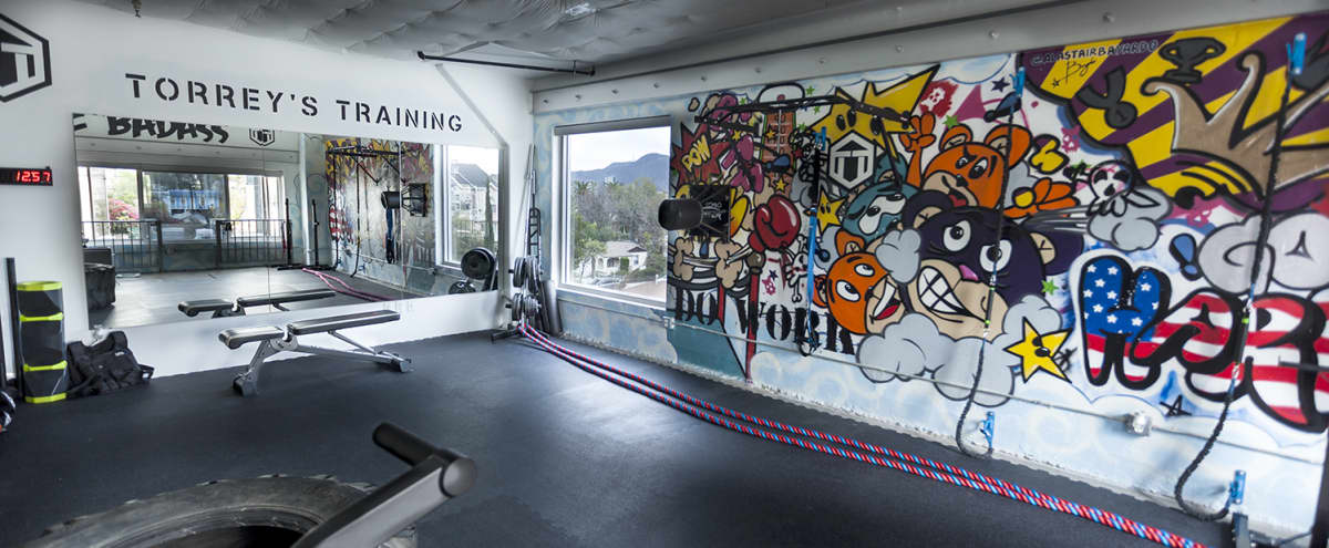 Arts District Industrial Loft Gym Space With Incredible