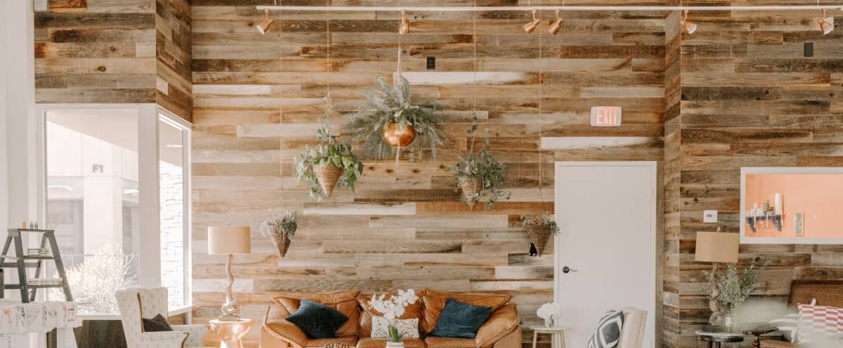 Industrial Loft, Spacious Craft Olive Oil Bar, White Ceilings, Reclaimed Wood, Steel, and Concrete in Mission Viejo Hero Image in undefined, Mission Viejo, CA