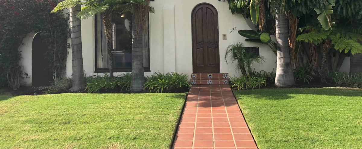 1920s charming Spanish style home in West Hollywood area in Los Angeles Hero Image in Beverly Grove, Los Angeles, CA