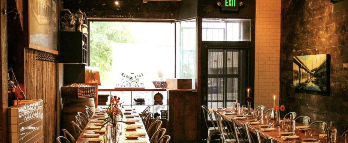 Rustic & Private Dinning Hall in the heart of Belltown in Seattle Hero Image in Downtown, Seattle, WA