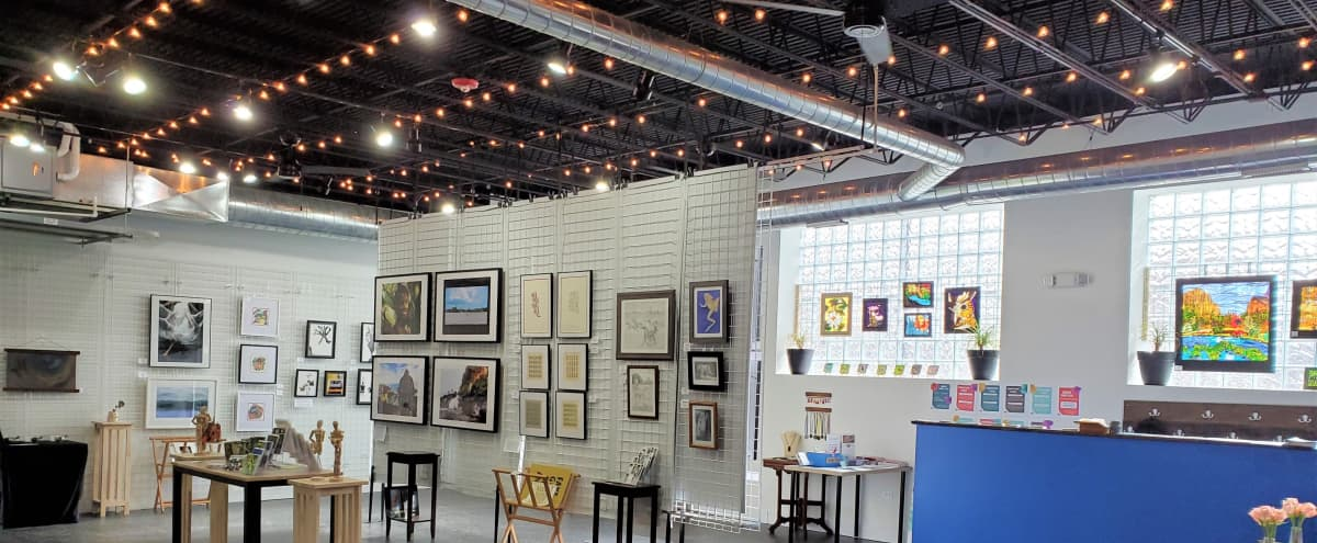 A Unique Gallery Space for your Intimate Event - Corporate Friendly in Evanston Hero Image in undefined, Evanston, IL