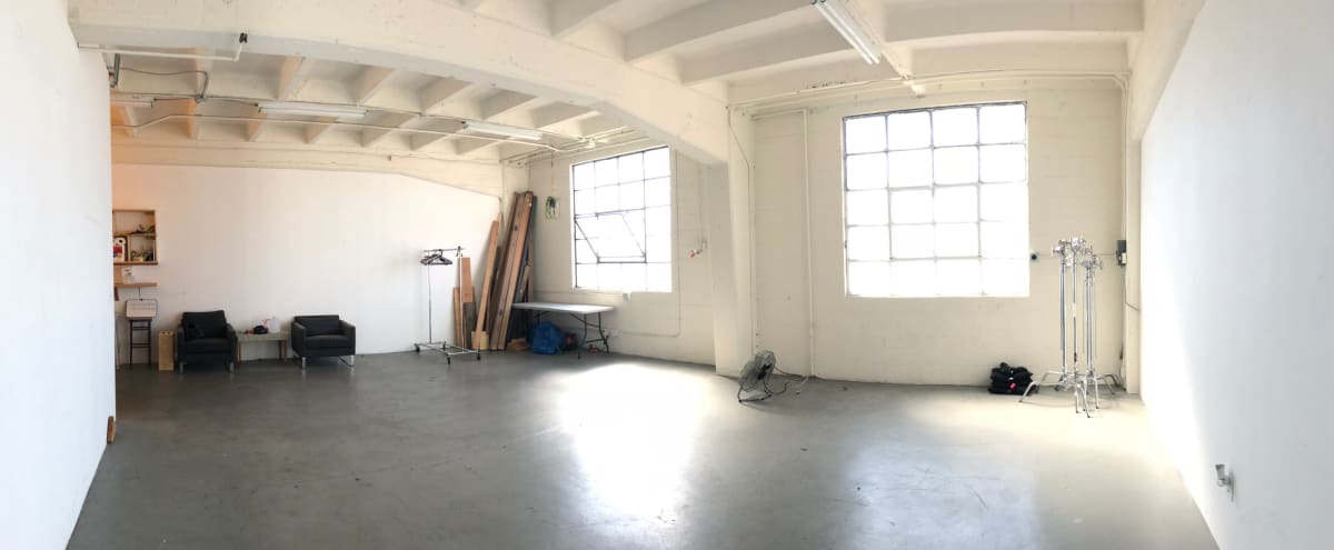 1300 Sqft - Natural Light Downtown Photo & Film Studio with Rooftop Access to Skyline View in Los Angeles Hero Image in Central LA, Los Angeles, CA