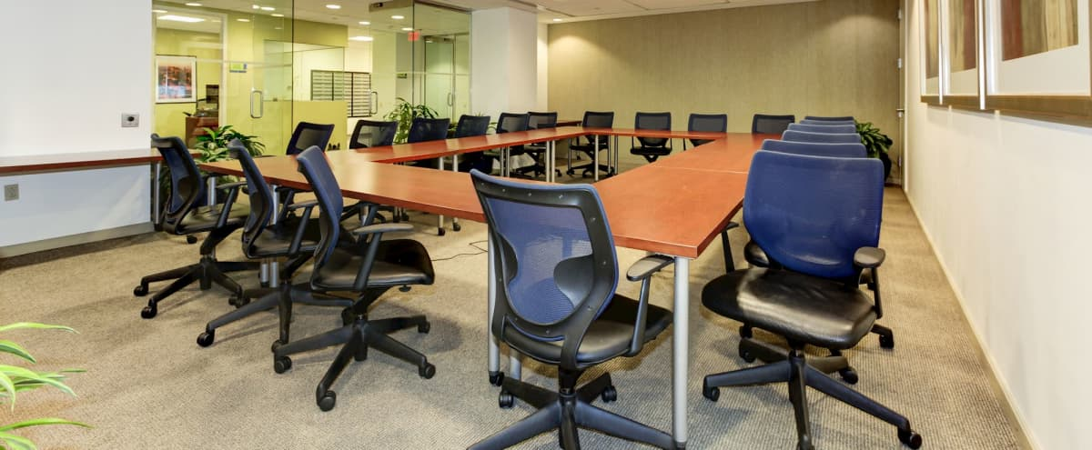 Training Room at the Prestigious Willard Office Building in DC Hero Image in Northwest Washington, DC, DC