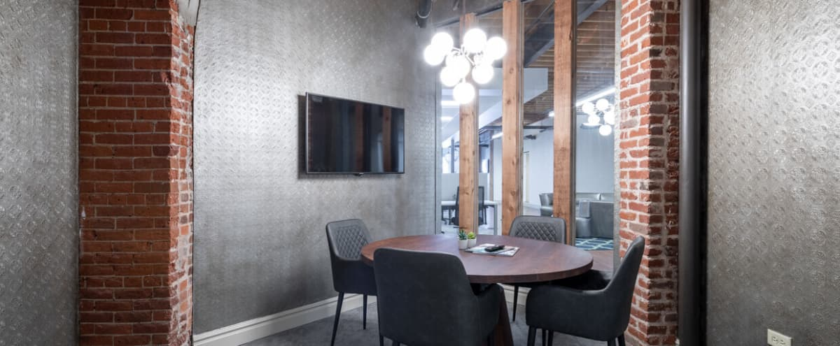 Downtown 4-Person Meeting Room in Historic Baur's Building in Denver Hero Image in Central, Denver, CO