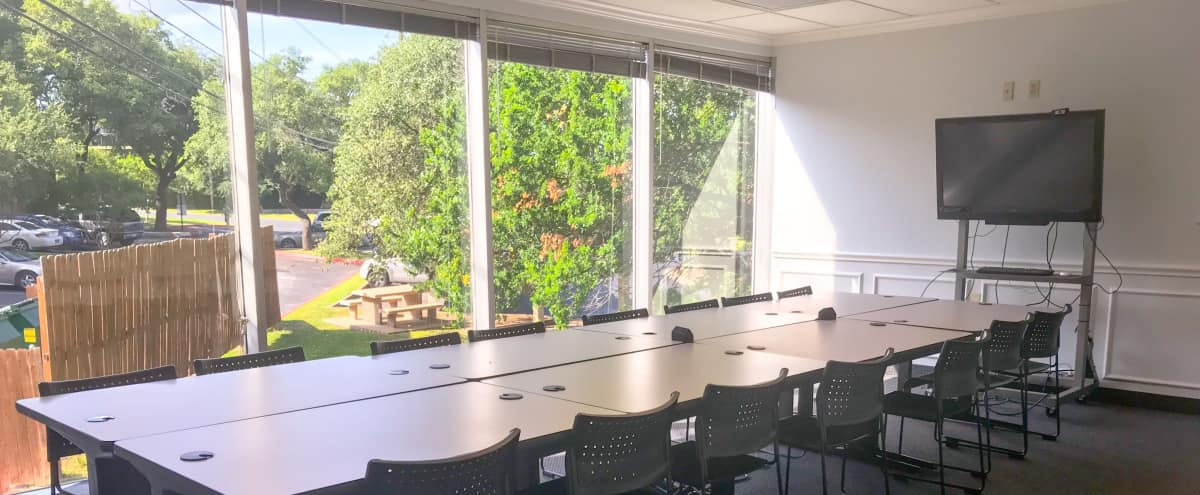 Espresso Board Room - Great Off-Site Meeting Space in Austin Hero Image in North Crossing, Austin, TX