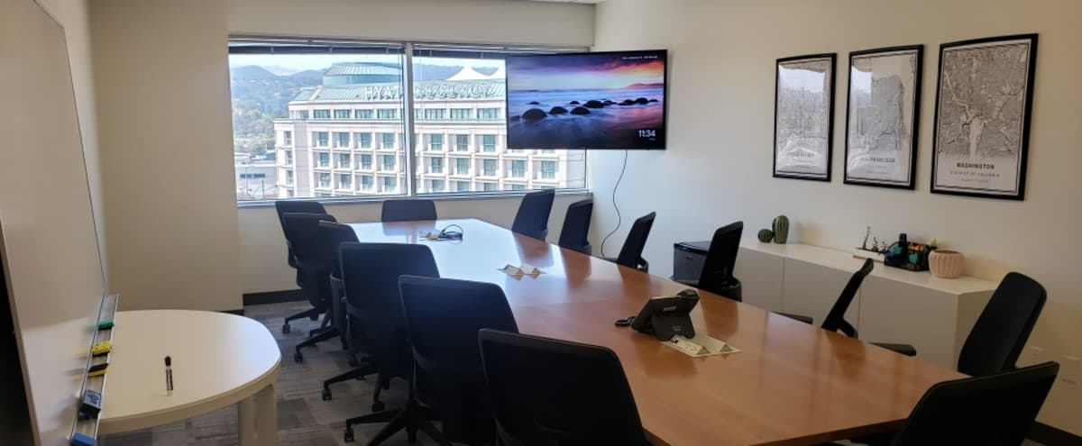 Conference Room close to SFO and downtown Burlingame with a beautiful view. in Burlingame Hero Image in Ingold - Milldale, Burlingame, CA