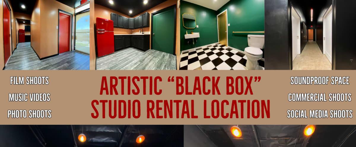 "Artistic ""Black Box"" Studio Warehouse w/ Soundproof Space in Pacoima Hero Image in Pacoima, Pacoima, CA"