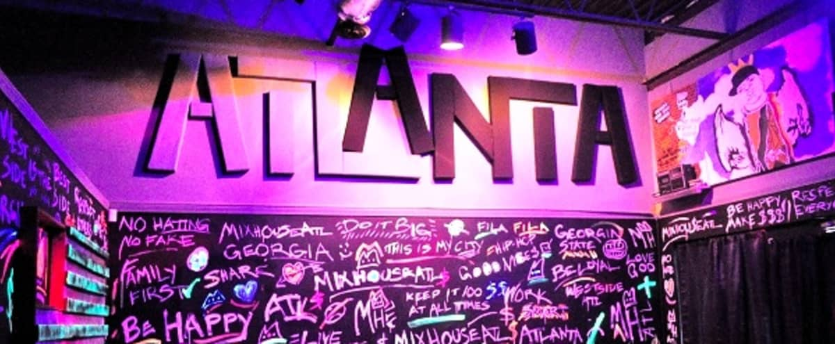 The Ultimate Venue x Workspace for Diverse Entertainment and Professional Services. in Atlanta Hero Image in undefined, Atlanta, GA