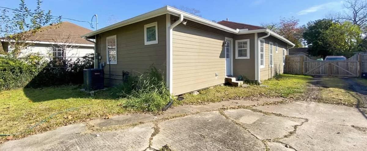 Cozy Home with Large Backyard in Houston Hero Image in Northeast Houston, Houston, TX