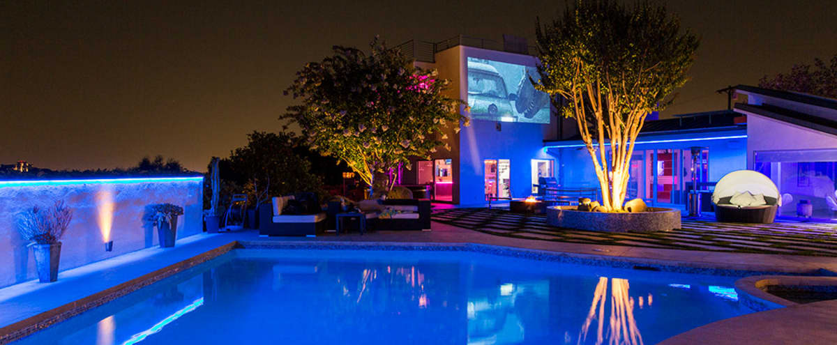 Hollywood Hills Celebrity Compound Modern Architecture, Views, Pool, Open Space! in Los Angeles Hero Image in Central LA, Los Angeles, CA
