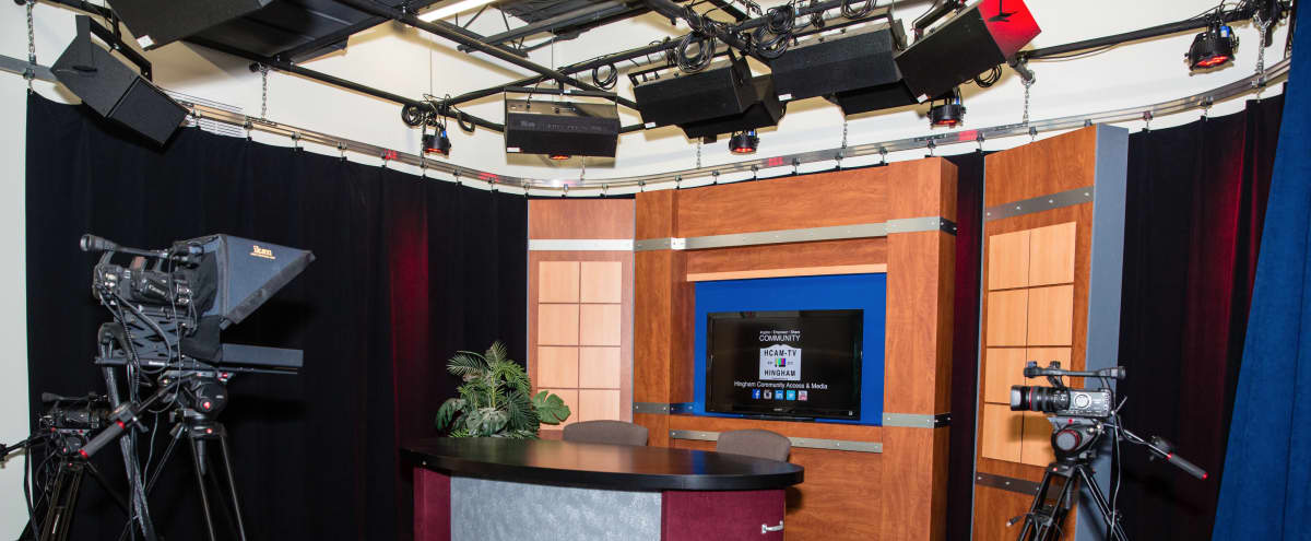 Multifunctional TV Studio w/ Green Screen, Kitchen, Editing Suites, & Conference Room in Hingham Hero Image in undefined, Hingham, MA