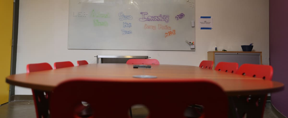 Conference Room with White Board in Dallas Hero Image in Design District, Dallas, TX