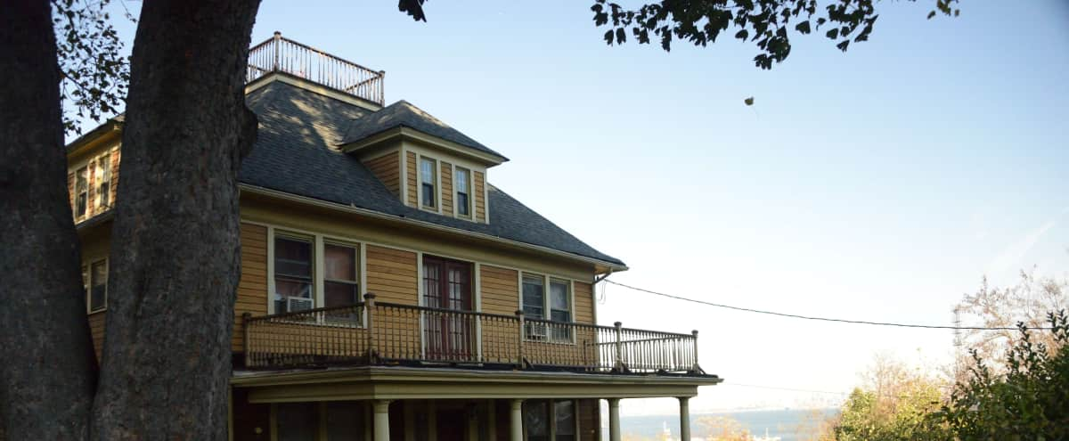 1905 Colonial Home with Stunning Views of NYC Harbor in Staten Island Hero Image in St. George, Staten Island, NY