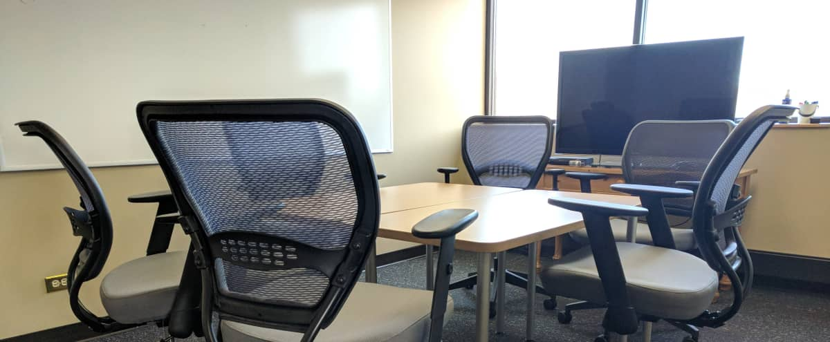 Meeting room with Whiteboards & 46\ in Glenview Hero Image in Glenview, Glenview, IL