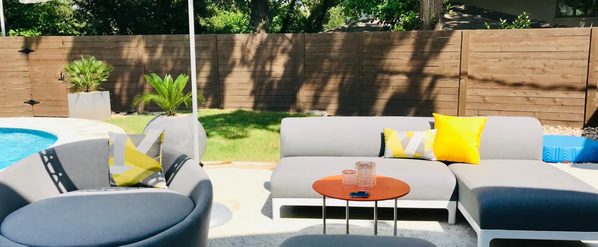 Picturesque outdoor home oasis, centrally located! in Austin Hero Image in Balcones Park, Austin, TX