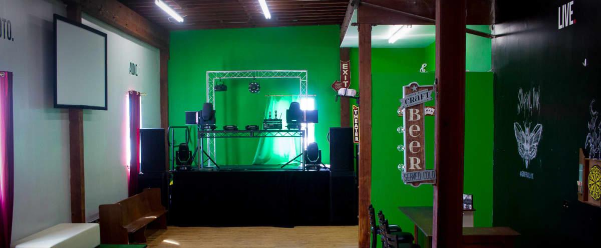 Large Warehouse with Bar! in Long Beach Hero Image in Washington, Long Beach, CA