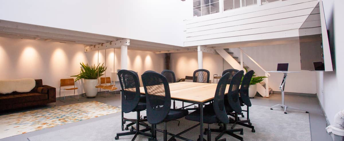 25'x30' Meeting Space Within Converted West-SOMA Industrial Building in San Francisco Hero Image in South of Market, San Francisco, CA