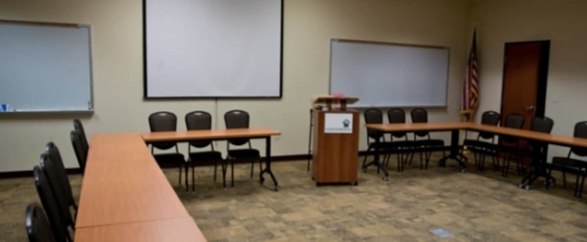 Spacious Classroom Style Event, Training and Meeting Room in Marietta Hero Image in undefined, Marietta, GA