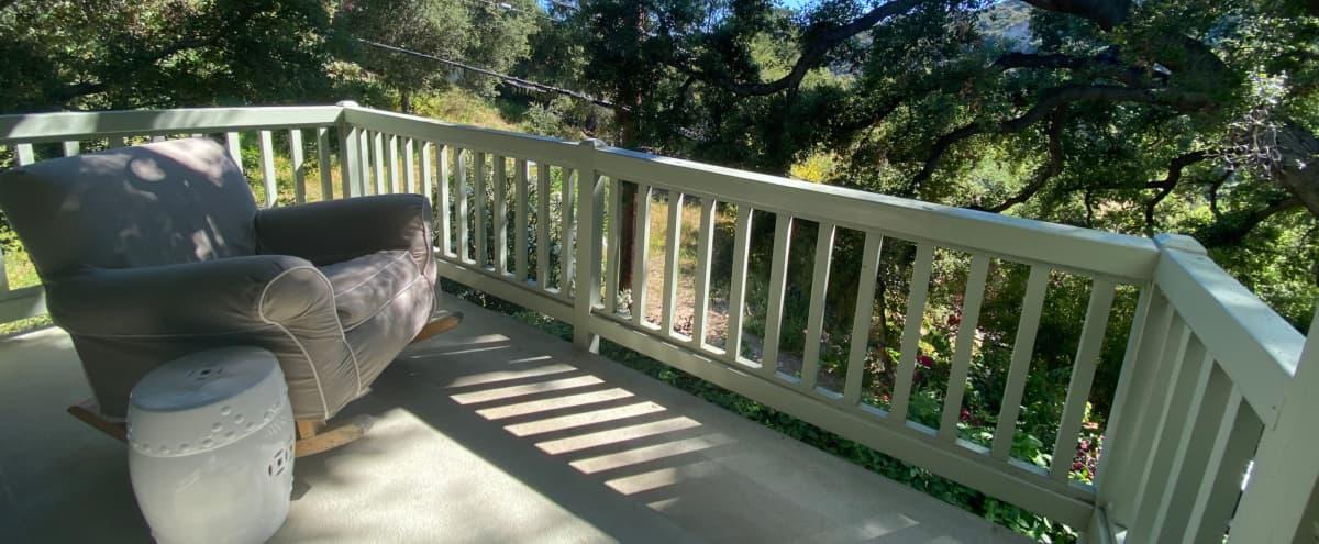 Bohemian Oak View Tri-level in Topanga Canyon Hero Image in Sylvia Park, Topanga Canyon, CA