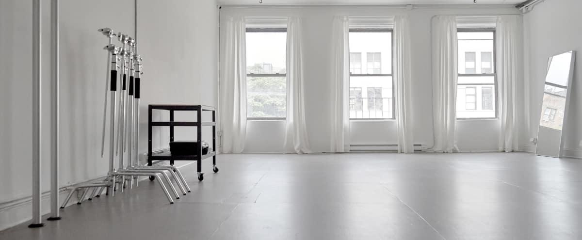 Lower East Side Bright Loft Photo Studio // 1000 sq ft in New York Hero Image in Lower Manhattan, New York, NY