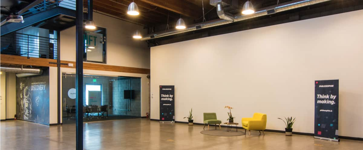 Spacious Event Space With Natural Light And Loft Santa Monica Ca