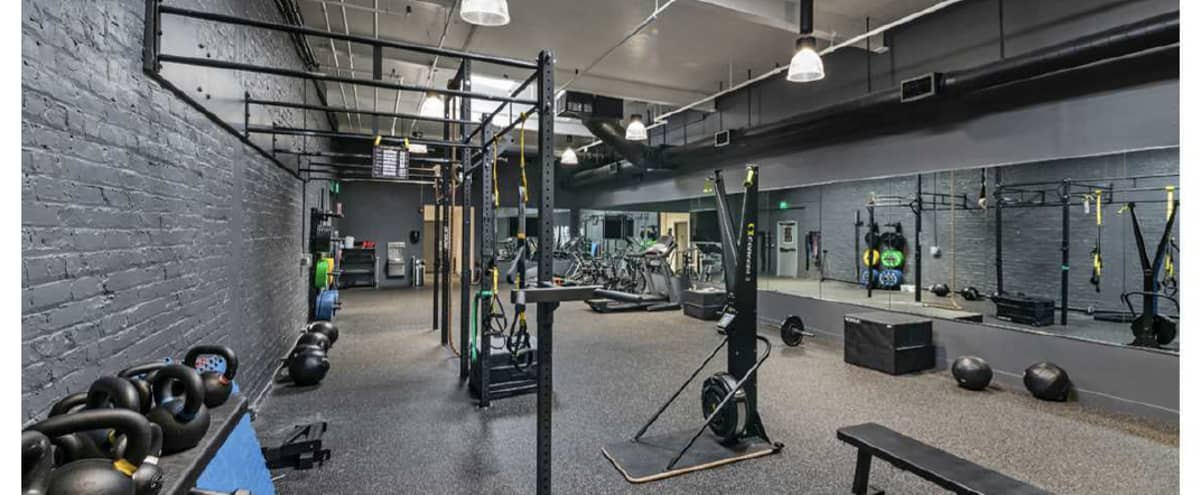 State of the art, spacious gym space near Jack London Square (TRX equipped) in Oakland Hero Image in Acorn Industrial, Oakland, CA