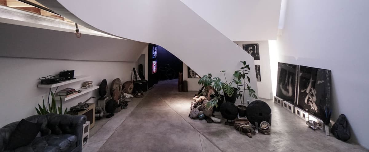 Stunning Post Modern Architectural Artist Gallery Loft in Los Angeles Hero Image in Lincoln Heights, Los Angeles, CA
