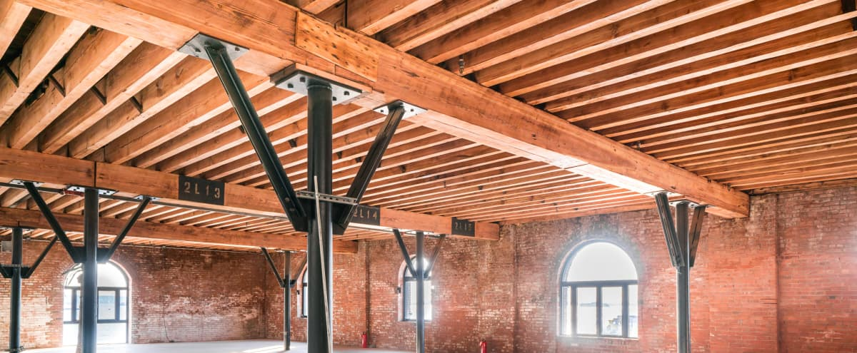 Beautifully Preserved pre-Civil War Historic Loft in Brick Pier on New York Harbor (with Statue of Liberty Views) in Brooklyn Hero Image in Red Hook, Brooklyn, NY