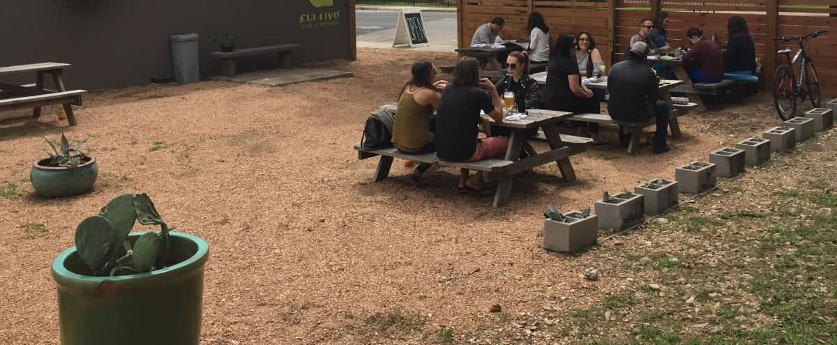 East Side Classic Café & Outdoor Space in Austin Hero Image in East Austin, Austin, TX