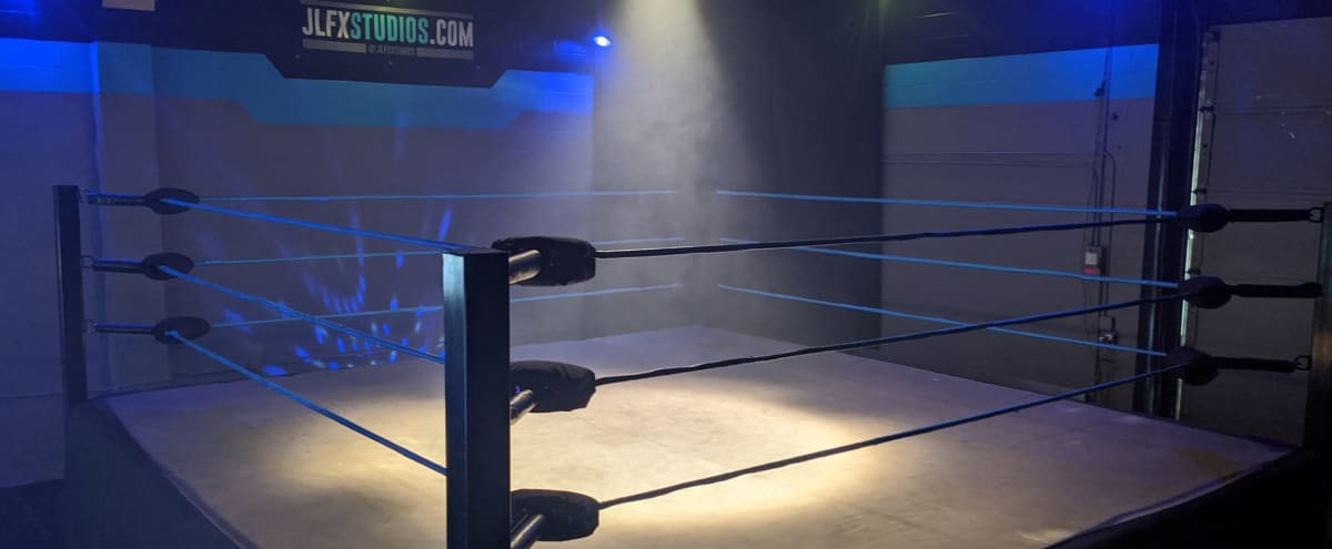 PRO WRESTLING or BOXING RING MMA Fight Arena Sports in Burbank Hero Image in undefined, Burbank, CA