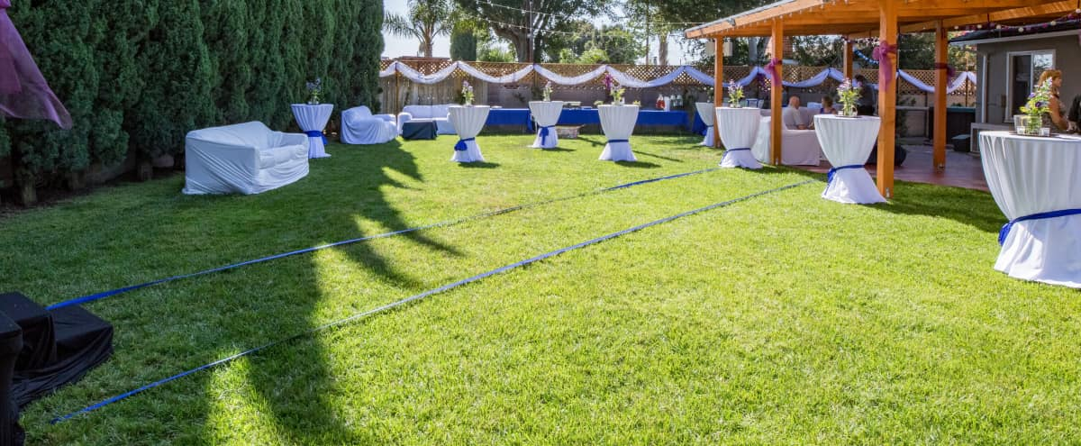 Quaint, Charming Backyard and Parlor Event Space in Orange County in Westminster Hero Image in undefined, Westminster, CA