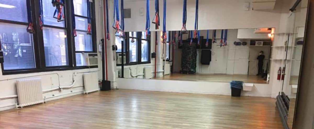 Studio C -  for fitness, dancing, casting calls, photo shoots, meetings, lectures, etc. in New York Hero Image in Midtown, New York, NY
