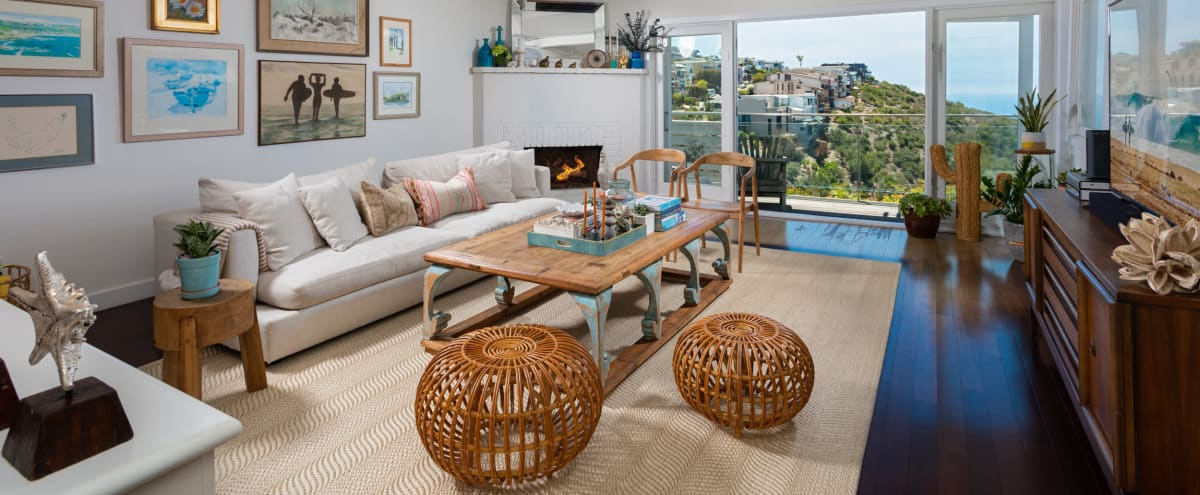 Stylish Home with Ocean and Canyon Views in Laguna Beach Hero Image in undefined, Laguna Beach, CA