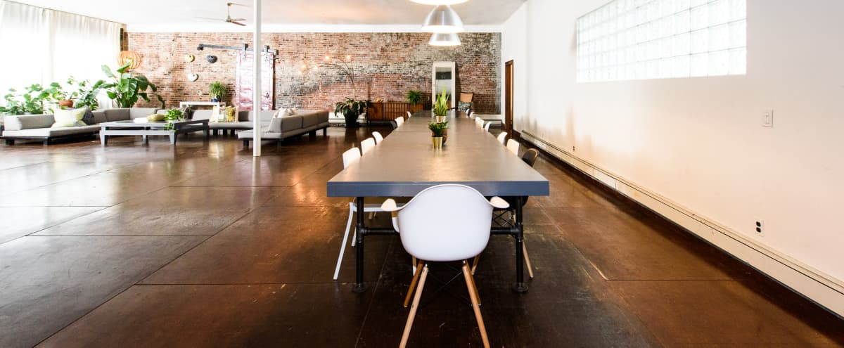 East Side Loft: 4000 SQ FT Furnished Industrial Loft in Brooklyn Hero Image in Clinton Hill, Brooklyn, NY